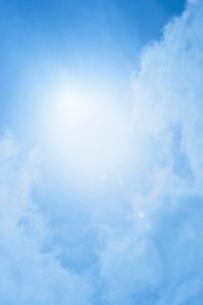 空と太陽の写真素材 [FYI02927793]