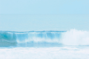 波と空の写真素材 [FYI02927861]