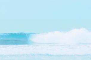 波と空の写真素材 [FYI02927971]