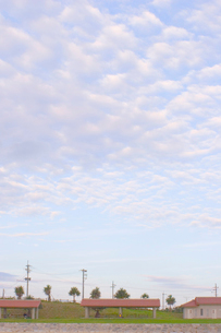 公園と雲の写真素材 [FYI02927974]