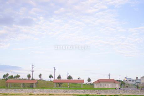 公園と雲の写真素材 [FYI02927976]