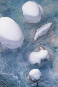 冬の川の写真素材 [FYI02928835]