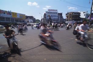 ベトナムの街角の写真素材 [FYI02929198]