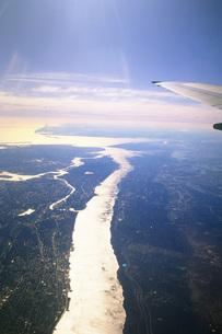 ニューヨーク上空の写真素材 [FYI02929545]