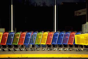 ショッピングカートの写真素材 [FYI02929550]