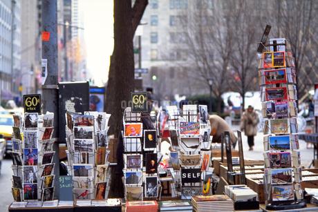 ニューヨークの街角の写真素材 [FYI02929552]