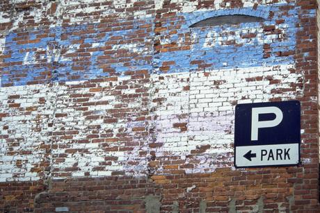 煉瓦の壁の写真素材 [FYI02929557]
