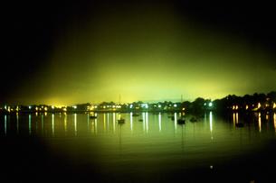 港の夜景の写真素材 [FYI02929595]