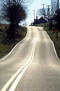 なだらかな坂道の写真素材 [FYI02929621]