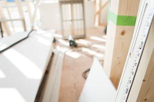 建設中の住宅の写真素材 [FYI02930820]