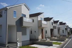住宅の写真素材 [FYI02932329]