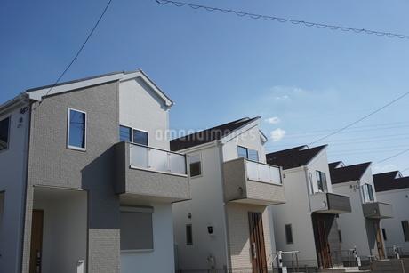 住宅の写真素材 [FYI02932356]