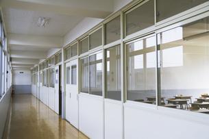 校舎内の風景の写真素材 [FYI02932364]
