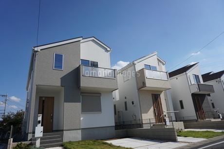 住宅の写真素材 [FYI02932386]