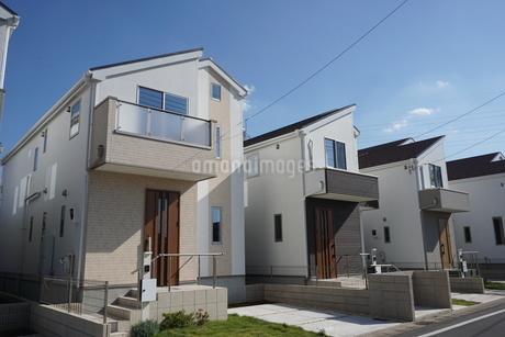 住宅の写真素材 [FYI02932401]
