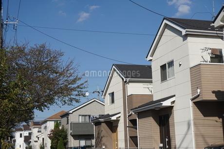 住宅の写真素材 [FYI02932623]