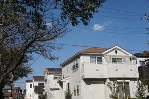 住宅の写真素材 [FYI02932655]