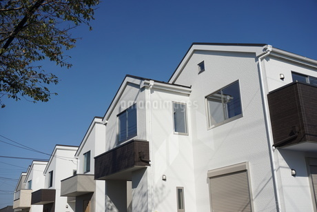 住宅の写真素材 [FYI02932687]