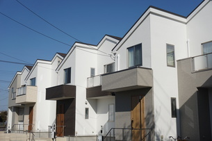 住宅の写真素材 [FYI02932718]