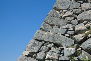 竹田城の石垣の写真素材 [FYI02933340]