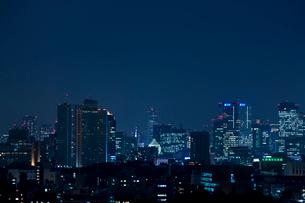 東京の夜景の写真素材 [FYI02933482]