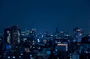 東京の夜景の写真素材 [FYI02933483]