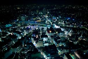 東京の夜景の写真素材 [FYI02933503]