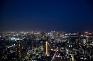 夕暮れの東京の写真素材 [FYI02933507]