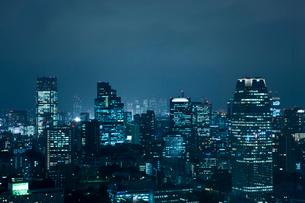 東京の夜景の写真素材 [FYI02933515]