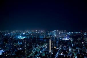 東京の夜景の写真素材 [FYI02933517]