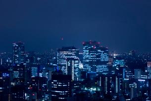 東京の夜景の写真素材 [FYI02933530]