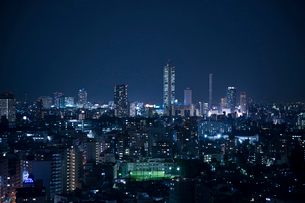 東京の夜景の写真素材 [FYI02933531]