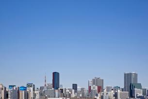 東京タワーとビル群の写真素材 [FYI02933601]