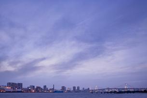 東京湾のビル群の写真素材 [FYI02933632]