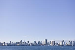 東京湾岸の風景の写真素材 [FYI02933691]