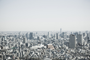 新宿から東京ドーム方面を望むの写真素材 [FYI02933711]