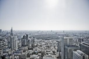 新宿から代々木公園方面を望むの写真素材 [FYI02933722]