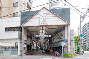 佐竹商店街の写真素材 [FYI02934202]