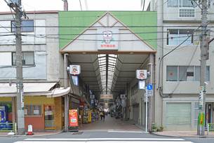 佐竹商店街の写真素材 [FYI02934205]