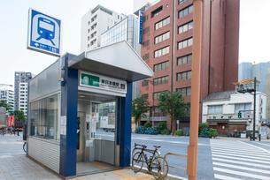 東日本橋駅の写真素材 [FYI02934227]