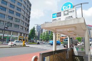 新御茶ノ水駅 小川町駅の写真素材 [FYI02934251]