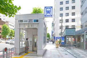 小川町駅 新御茶ノ水駅 淡路町駅の写真素材 [FYI02934252]