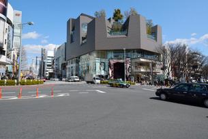 原宿,神宮前交差点の写真素材 [FYI02934837]