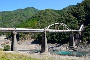 奈良十津川村,弟Ⅰ発電所水路橋の写真素材 [FYI02934998]