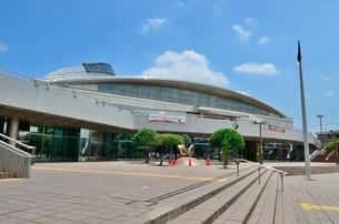 町田市立総合体育館メインアリーナの写真素材 [FYI02935164]