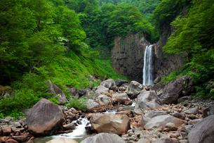 苗名の滝の写真素材 [FYI02935211]