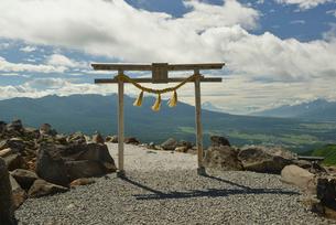 車山神社の写真素材 [FYI02935342]