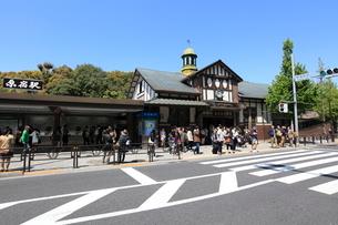 原宿駅前の写真素材 [FYI02935598]