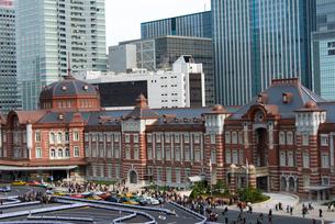 東京駅の写真素材 [FYI02935646]
