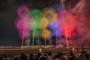 長岡花火大会の写真素材 [FYI02935684]
